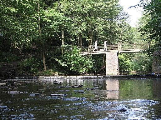 River Frome footbridge