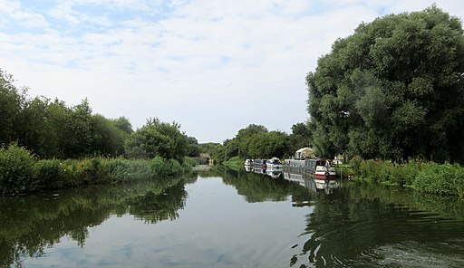 River Nene at Oundle Marina - July 2014 - panoramio