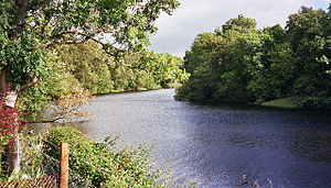 Kincraig - The River Spey at Kincraig