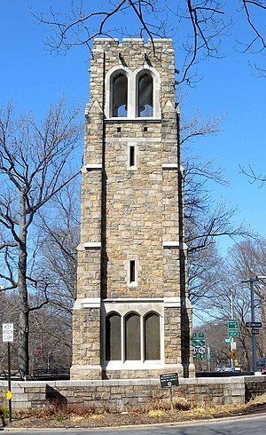 Riverdale, Bronx - Bell Tower Park in Riverdale