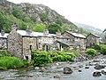 Riverside cottages in Ffordd Gwynant - geograph.org.uk - 446650.jpg