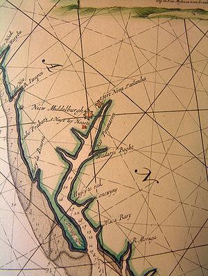 Pomeroon (colony) - Image: Rivier Pomeroon 1688