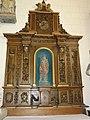Riville (Seine-Mar.) église, autel (03) lateral avec statue.jpg