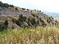 Road cut to summit P7170259.jpg