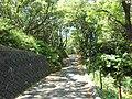 Road to Maruyama park, Kashikojima.jpg