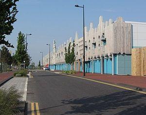 BBC Cymru Wales - BBC Cymru Wales' Roath Lock studio complex.