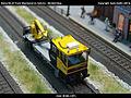 Robel Bullok BAMOWAG 54.22 Track Maintenance Vehicle - DB Bahnbau Kibri 16100 Modelismo Ferroviario Model Trains Modelleisenbahn modelisme ferroviaire ferromodelismo (11696751706).jpg