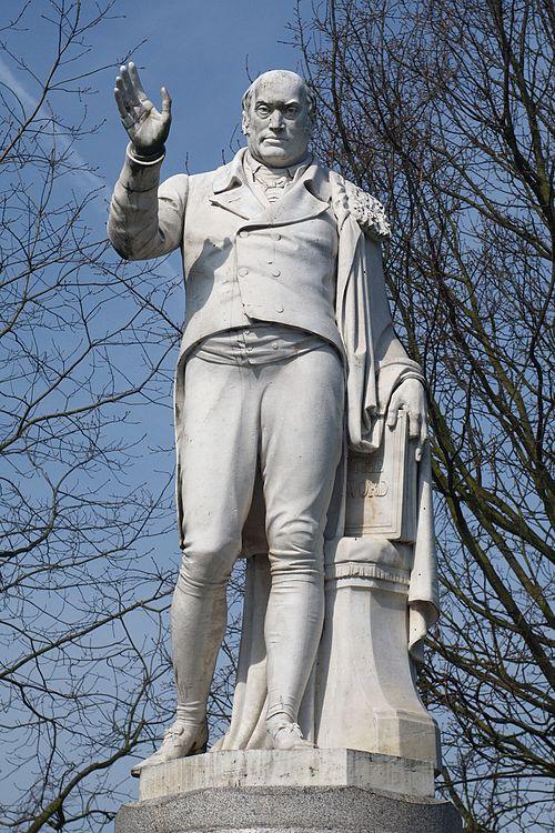 Robert hall statue detail