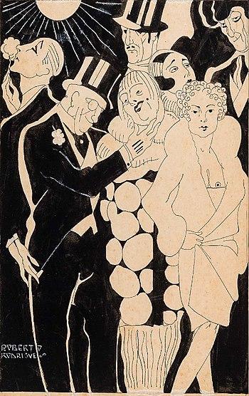 "Roberto Falcão Rodrigues, ""Illustration"""