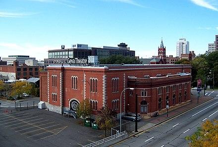 Geva Theatre Center downtown Rochester - Geva Theatre - Rear Angle.jpg