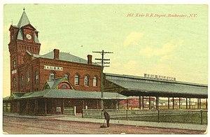Erie Railroad Depot (Rochester, New York) - Erie Railroad Depot, 1908