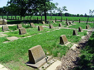 Rohwer War Relocation Center - Rohwer Memorial Cemetery