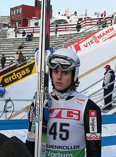 Rok Benkovič Slovenian ski jumper