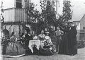 Rolighed 1867 - Melchior family and H. C. Andersen.png