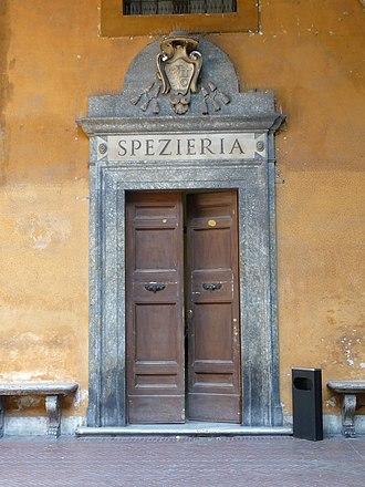 Ospedale di Santo Spirito in Sassia - The entrance of the Spezieria