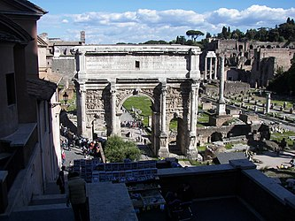 Roman Forum from northwest.jpg