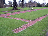 Site of the Roman Fort at Cramond.