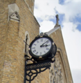 Roman numerals in a church, London.png