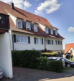 Friedhofstraße in Kernen im Remstal