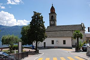 Ronco sopra Ascona - Church of Ronco sopra Ascona