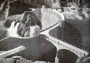 Theodore Roosevelt Dam - Image: Roosevelt Dam 1911