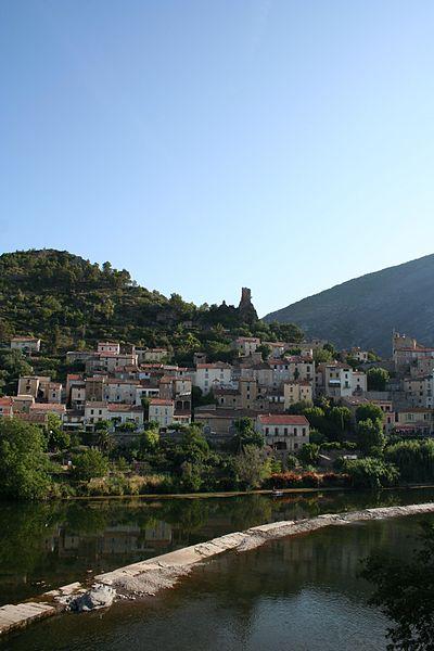 village de Roquebrun