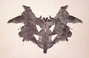 Rorschach blot - Test di rorschach tavola 1 ...