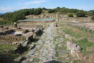 Rusellae - The archaeological site of Rusellae