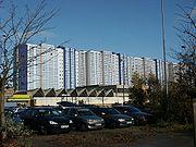 Modernized Plattenbau in Rostock