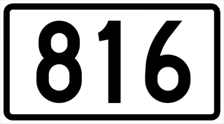 Finnish regional road 816