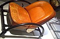 Rover Chair leather at Barbican London 2010 Ron Arad.jpg