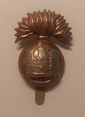 Royal Inniskilling Fusiliers - Royal Inniskilling Fusiliers Cap Badge