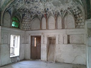 Burhanpur - Royal bath or hammam Shahi qila Burhanpur