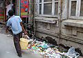 Rubbish on street, Amritsar (8132207563).jpg