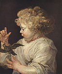 Rubens, Peter Paul - A child with bird - c. 1616.jpg
