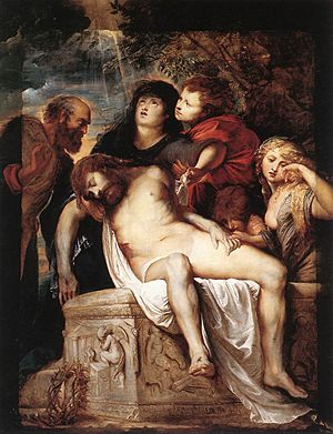 The Deposition (Rubens) - Image: Rubens Deposition