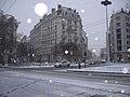 Rue Élie-Rochette (Lyon, France) sous la neige en janvier 2010.jpg
