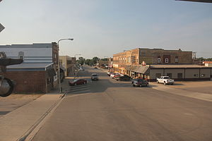 Rugby, North Dakota - Downtown Rugby