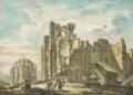 Ruinas da Sé de Lisboa após o Terramoto de 1755 - Jacques Philippe Le Bas, 1757.png