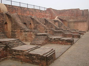 Empire of Harsha - Ruins of Harsha Ka Tila warehouse.