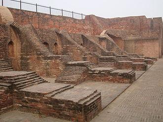 Empire of Harsha - Ruins of Harsha Ka Tila warehouse.