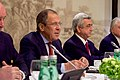 Russian Foreign Minister Lavrov and Armenian President Sagsyan Participate in a Meeting With Secretary Kerry and Other Global Leaders on the Nagorno-Karabakh Conflict in Vienna (27057409925).jpg