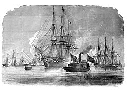 Russian Squadron in the Harbor of New York, October 1863.jpg