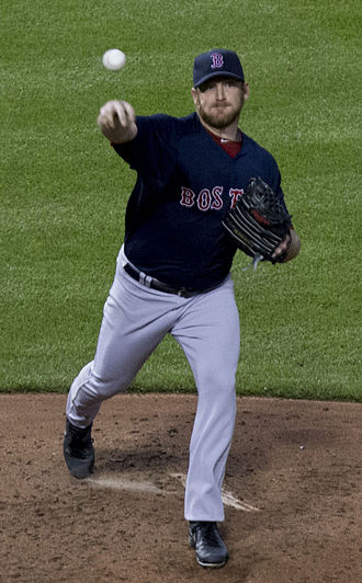 Ryan Dempster - Dempster with the Boston Red Sox