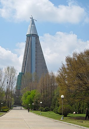 Ryugyong Hotel in North Korea: The World's Largest Hotels