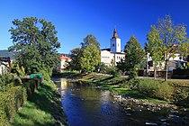 Rzeka Łomna w Jabłonkowie 1.JPG