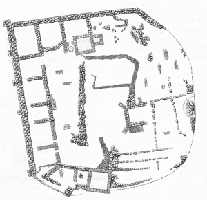 Søborg Castle - Floor plan