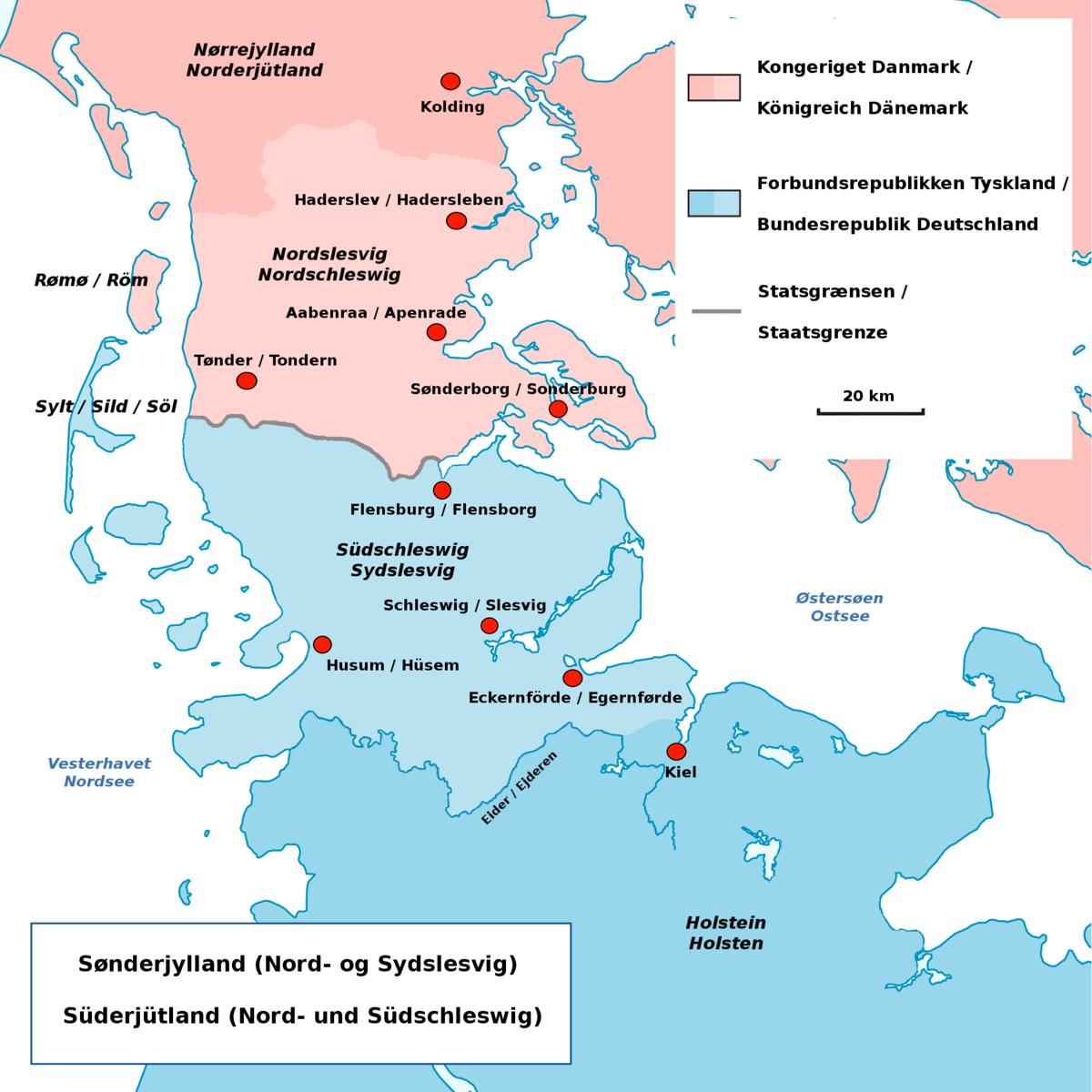 Sønderjylland - Wikipedia, den frie encyklopædi