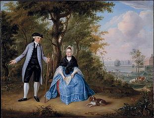Pieter de Clercq et son épouse Agatha Stockelaar