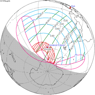 Solar Eclipse Of August 22 1979 Wikipedia